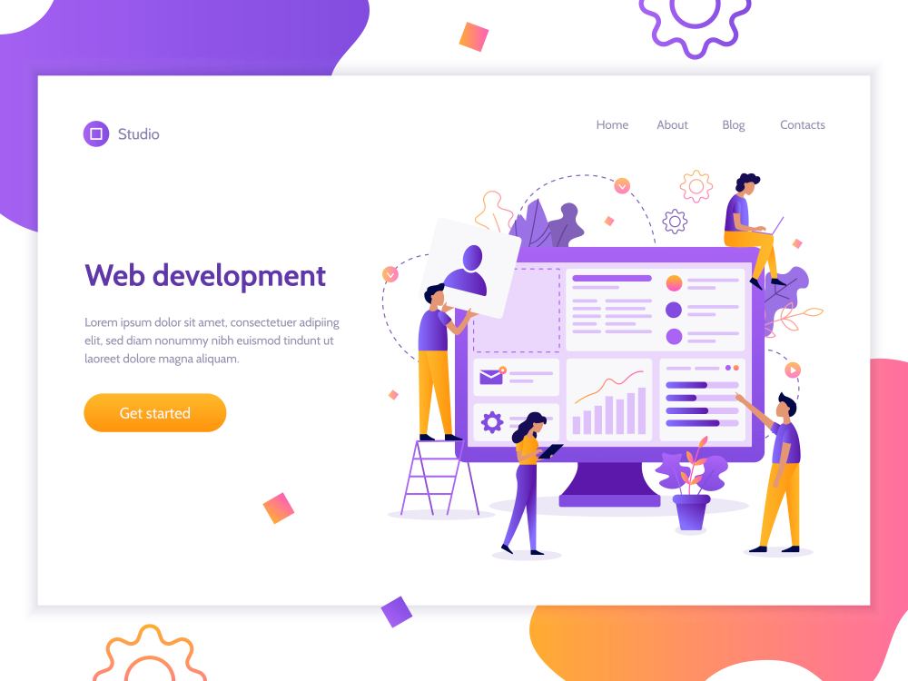 Designing the websites